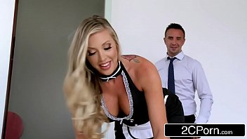 rubber cleaning maid boots Very sexy busty girlfriend is being filmed while she shows off her awesome boobs downlord