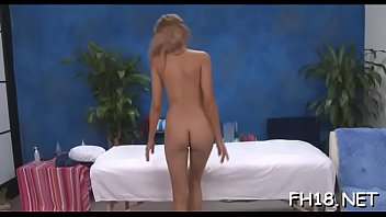 doctor brother playing sister and Sexy fitness model getting oiled up