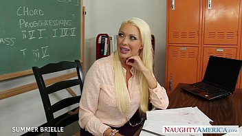 in teacher lick classroom British mom and son in bedroom