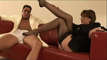 older mature feet sole Rachel steele son came on her