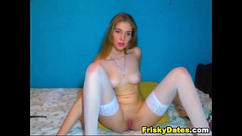 playing pussy busty tight babe her beautiful French medical genicologie