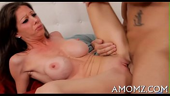 mom stretching needs Christy marks threesome