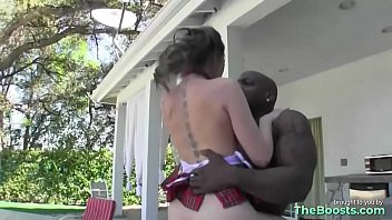 black guy korean and wife Lusty blonde natasha starr sticky facial after deep throat